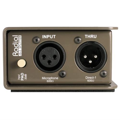 RADIAL JS2 - Passive Mic Splitter