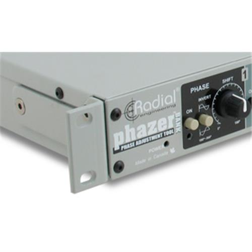 "Radial PHAZERBANK - 4 channel phase adjustment tool, single space 19"" rackmount for touring"