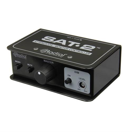Radial SAT-2 - Passive two-channel balanced stereo attenuator