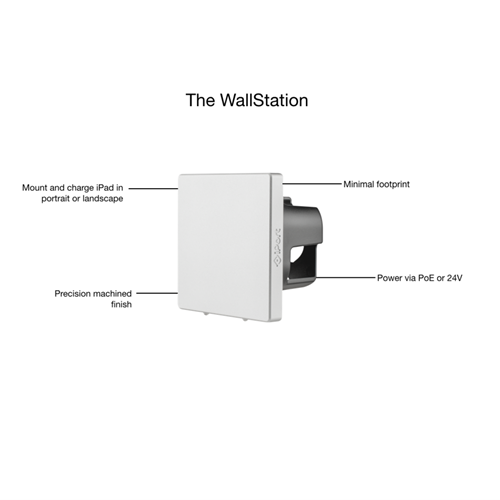 IPORT LUXE Wallstation SILVER . iPort