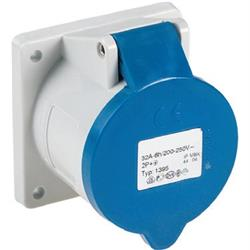 PROEL SOCKET - 32A, 2P+T 6h IP44