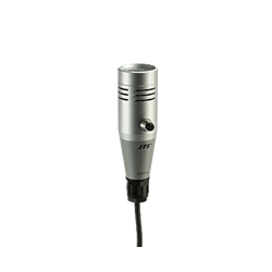 Push-to-talk hand-held mic for supermarket etc. 5-pin XLR