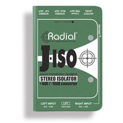 RADIAL J-ISO - +4dB TO -10dB Converters