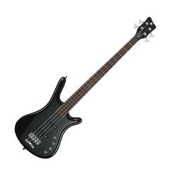 RockBass Corvette Basic 4-String Solid Black High Polish