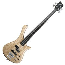 RockBass Fortress 4-String Natural Transparent Satin