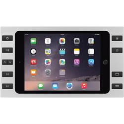 SM-AIR 10 BUTTONS Silver +Spl iPad Air 2/1 and Pro 9.7in + Splitter Surface Mount iPort