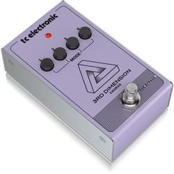 3rd Dimension Chorus. Vintage Analog Chorus Pedal Recreation with 4-Button Effect Selection