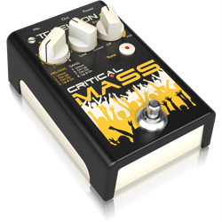 CRITICAL MASS. Studio quality vocal stompbox for large group sound vocal effects.Batt/PSU