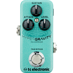 TC Electronic Hyper Gravity Mini Compressor - Multi Band Compression with Vintage Mode. Toneprint enabled