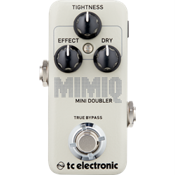 TC Electronic Mimiq Mini Doubler - Doubling Pedal with a Responsive Control for Voice Doubling