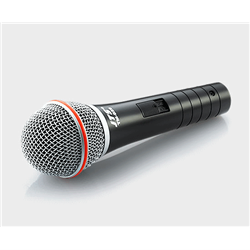 Dynamic vocal mic with switch includes XLR/6.35 cable extended frequency response
