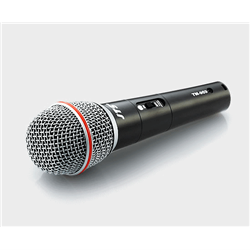 Dynamic vocal mic with switch includes XLR/6.35 cable