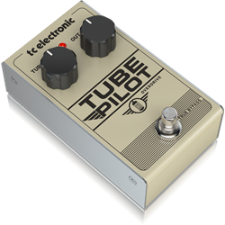 TUBE PILOT OVERDRIVE. 12AX7-Equipped Real Tube Overdrive Pedal.