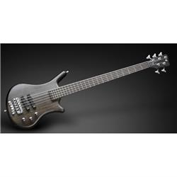 Warwick Teambuilt Pro Series Thumb BO, 5-String - Nirvana Black Transparent Satin act/act OVA fretted w/ Bag