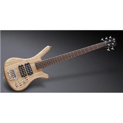 Warwick Teambuilt Pro Series Corvette $$, 5-String - Natural Transparent Satin pas/act ASH fretted w/ Bag