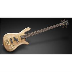 Warwick Masterbuilt Streamer LX 4-String Natural Transparent Satin