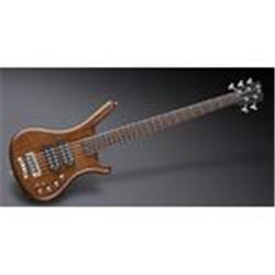 Warwick TeamBuilt Pro Series Corvette $$ 5-String Antique Tobacco Transparent Satin