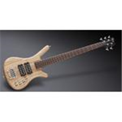 Warwick TeamBuilt Pro Series Corvette $$ Ash 5-String Natural Transparent Satin