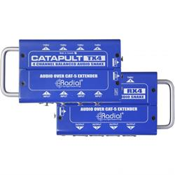 RADIAL CATAPULT RX4L - 4 Channel Cat5 Audio Snake