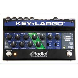 Radial Key Largo Keyboard Mixer and Performance Pedal