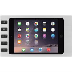 SM-AIR 6 BUTTONS Silver +Spl iPad Air 2/1 and Pro 9.7in + Splitter Surface Mount iPort