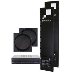 VP10SUB NC System - Package contains: 1x Amp, 2x Enclosures & 2x Subwoofers