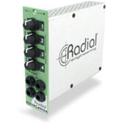 RADIAL SUBMIX - 500 Series 4-Channel Line Mixer-R700 0170
