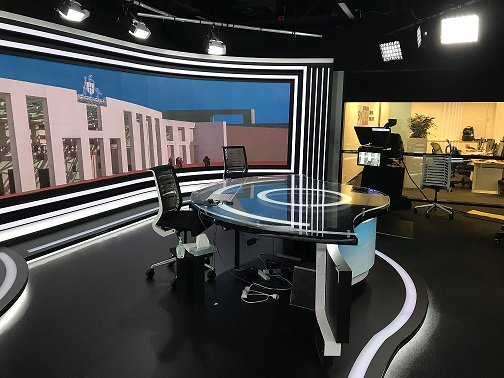 Sky News Canberra installation