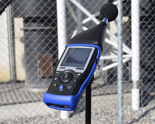 sound meter with mic