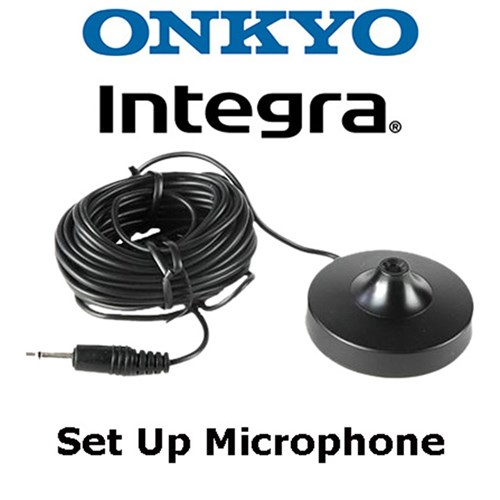 MIC-5000 setup microphone for multiple Onkyo/Integra models. Sub for 1B068MIC & 245041