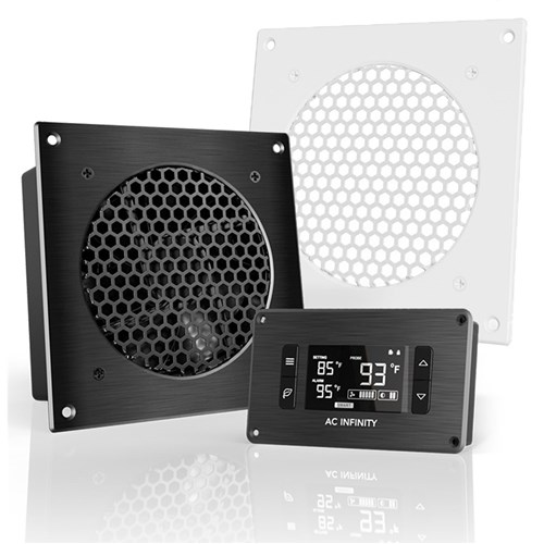 Airplate S3 + ATC + WH Grill cooler 52CFM @18dbA AC Infinity