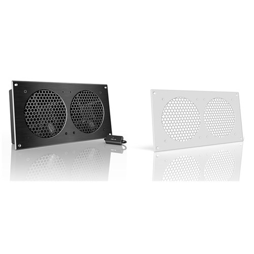 Airplate S7 2x120 mm Cabinet Cooler 104CFM@19dBA  Whitekit AC Infinity