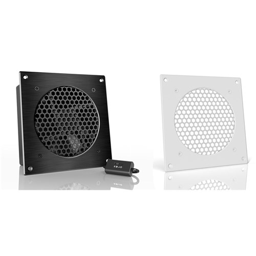 AirplateS3 120mmCabinet Cooler 52 CFM @ 18 DBA white Kit AC Infinity