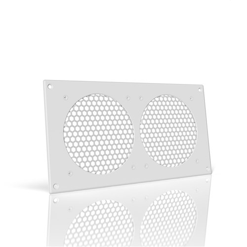 Frame / Grill / Vent White Dual Ports 300 x 160 x 3mm AC Infinity