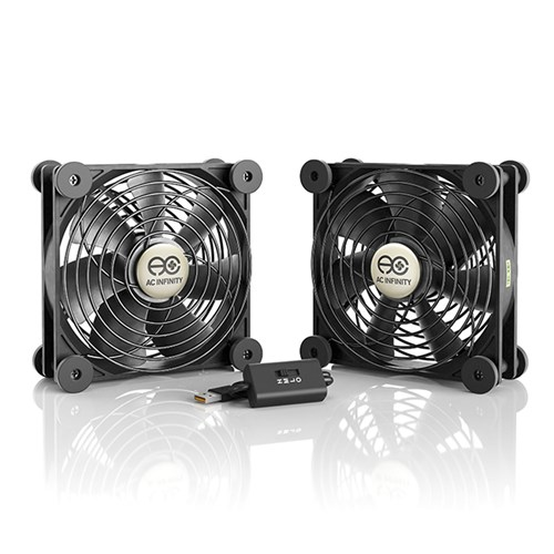 Multifan S7 Spot cooler 2 x 120mm 102CFM at 26dBA AC Infinity