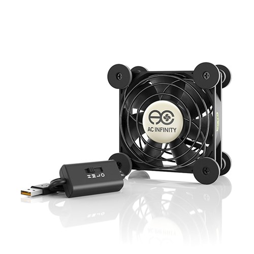 Multifan S1 Spot cooler 1 x 80mm fan 26 CFM @22dBA AC Infinity