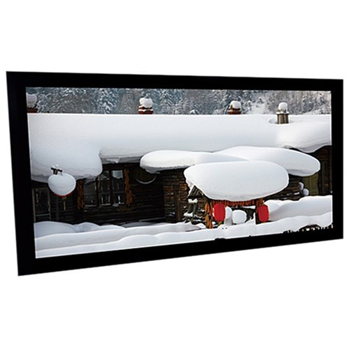 "110"" 16:9 6cm Fixed Frame Matt White Screen"