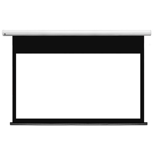 "123"" 16:10 Motorised Matt White Screen Accent Visual"