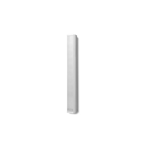 "Column spkr 8x2"" + 1"" tweeter 100V/30W, 16ohm/40W, white speech optimised, COLS81"