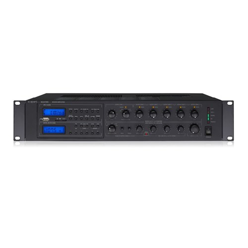 Multizone mixer amp MA247MR as for MA247 plus AM/FM tuner and USB/SD media player