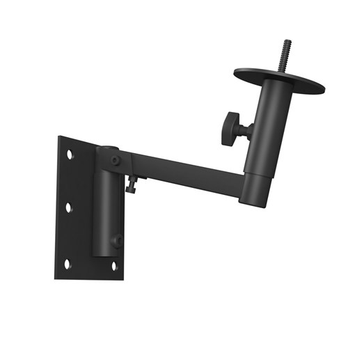 Wall mount bracket MASK12(T) Pole adaptor, pan/tilt, black MASK12PBRA-BL