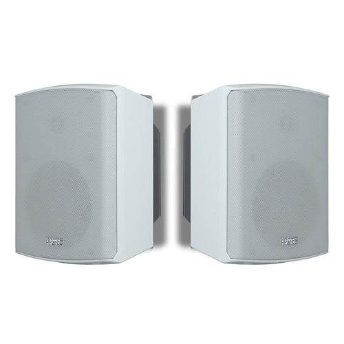 "5.25"" active two-way spkr PAIR 2 x 30W, white,SDQ5PIR-WPR control RS232/IR/ACP/ACPL/ACPR"