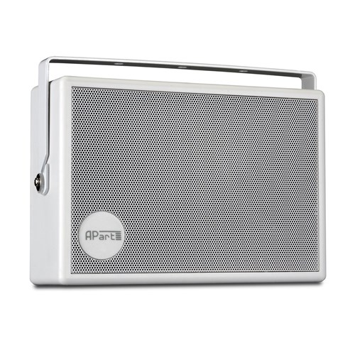 "5.25"" on-wall speaker 100V/6W, white with U bracket, SMB6-W"