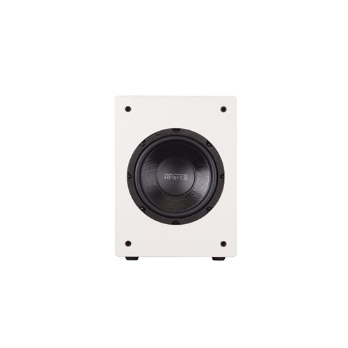 "8"" active subwoofer 140W, active crossover, white SUBA165-W"