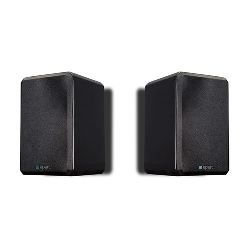 "4"" two-way HiFi speaker PAIR 16ohm/120W, gloss black VINCI416-BLPR"