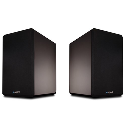 "7"" two-way HiFi speaker PAIR 6ohm/200W, gloss black VINCI7-BLPR"