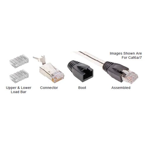 Connectors for CAT6A and CAT7 (50 pack) AudioQuest