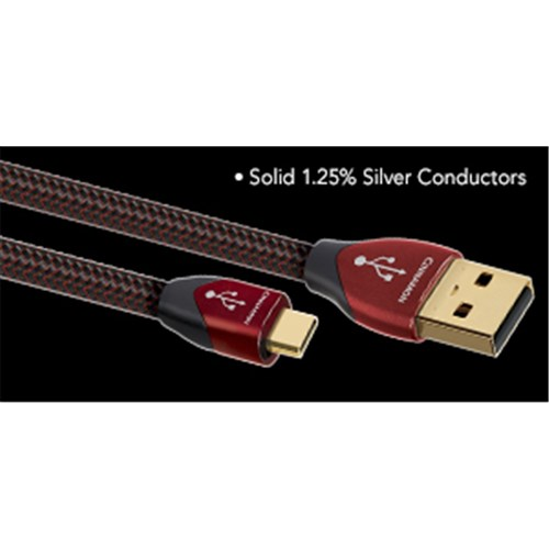 Cinnamon USB A to Micro 1.25% Silver AudioQuest (SINGLE)
