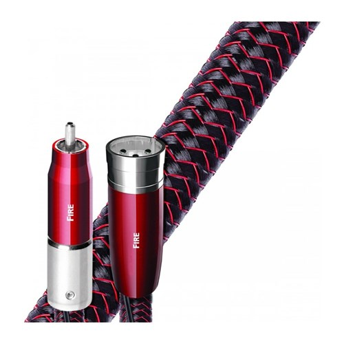 Fire Analogue Audio 2m SINGLE XLR-XLR 72vDBS PSS Braided AudioQuest (SINGLE)