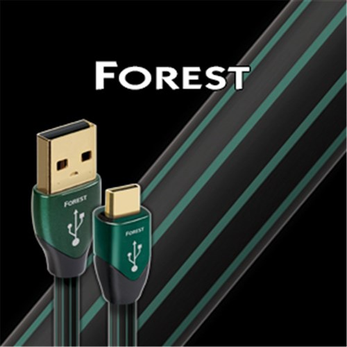 Forest USB A to Micro 0.5% Silver AudioQuest